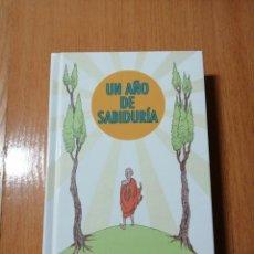Libros de segunda mano: UN AÑO DE SABIDURÍA. MIKE MEDAGLIA.. Lote 202720431