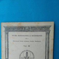 Libros de segunda mano: EL PENSAMIENTO POLÍTICO CATALÁN MEDIEVAL COMO TRANSFONDO DEL MALLORQUÍN. Lote 203067431