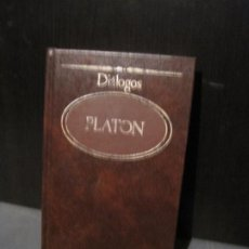 Libros de segunda mano: PLATÓN - DIÁLOGOS. SARPE 1983. Lote 203315250