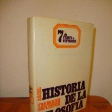 Libros de segunda mano: HISTORIA DE LA FILOSOFÍA, 7: DE FICHTE A NIETZSCHE - FREDERICK COPLESTON - ARIEL, RARO. Lote 204846113