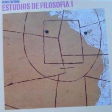 Libros de segunda mano: LA MODERNIDAD BASTARDA ESTUDIOS DE FILOSOFIA AGUSTIN MIRANDA CARRILLO PROLOGO MANUEL BARRIOS CASARES. Lote 205078823