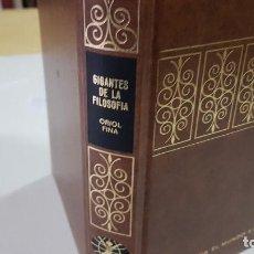 Livros em segunda mão: GIGANTES DE LA FILOSOFÍA - ORIOL FINA - ED. BRUGUERA - AÑO 1973 - 1ª EDICIÓN (ILUST). Lote 205592773
