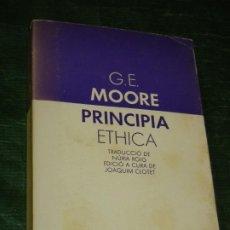 Libros de segunda mano: PRINCIPIA ETHICA, DE G.E.MOORE - ED.LAIA 1982. Lote 205823713