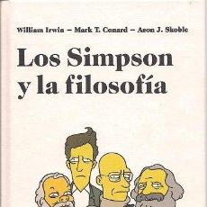 Libros de segunda mano: LOS SIMPSON Y LA FILOSOFÍA. Lote 207032261