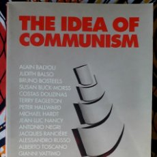 Libros de segunda mano: COSTAS DOUZINAS & SLAVOJ ZIZEK (EDS.) . THE IDEA OF COMMUNISM. Lote 207334910