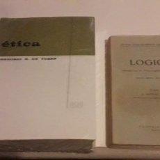 Libros de segunda mano: ÉTICA DE YURRE Y LOGICA DE DONAT. Lote 207578628
