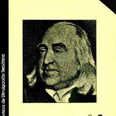 Libros de segunda mano: JOSEP M. COLOMER - EL UTILITARISMO. Lote 207607135