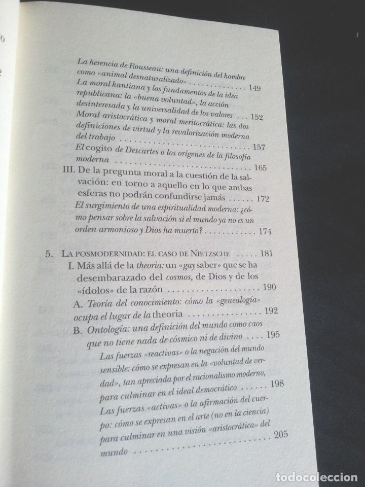 Libros de segunda mano: LUC FERRY - APRENDER A VIVIR, FILOSOFIA PARA MENTES JOVENES - EDICIONES TAURUS 2007 - Foto 5 - 207859923