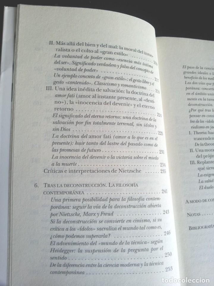 Libros de segunda mano: LUC FERRY - APRENDER A VIVIR, FILOSOFIA PARA MENTES JOVENES - EDICIONES TAURUS 2007 - Foto 6 - 207859923