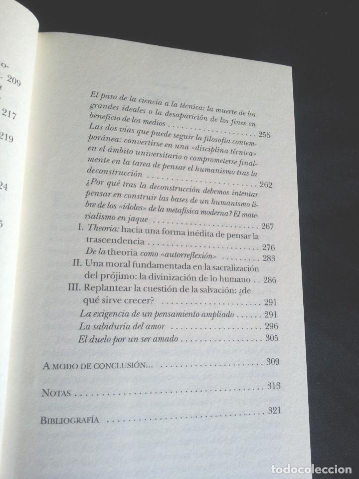 Libros de segunda mano: LUC FERRY - APRENDER A VIVIR, FILOSOFIA PARA MENTES JOVENES - EDICIONES TAURUS 2007 - Foto 7 - 207859923
