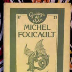 Livros em segunda mão: MICHEL FOUCAULT . GENEALOGÍA DEL RACISMO. Lote 208052135