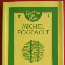 Libros de segunda mano: MICHEL FOUCAULT . MICROFÍSICA DEL PODER. Lote 208052272