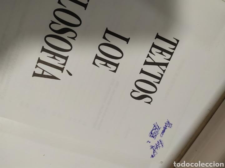 Libros de segunda mano: LIBRO FILOSOFIA ,Textos LOE Filosofía Universidad de Madrid- Editorial Coloquio - Foto 5 - 209240847