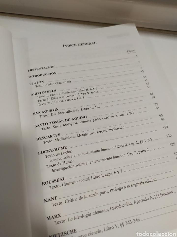 Libros de segunda mano: LIBRO FILOSOFIA ,Textos LOE Filosofía Universidad de Madrid- Editorial Coloquio - Foto 8 - 209240847
