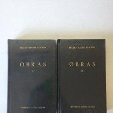 Libros de segunda mano: LOTE 2 LIBROS - OBRAS - DÉCIMO MAGNO AUSONIO - BIBLIOTECA CLÁSICA GREDOS. Lote 210642374