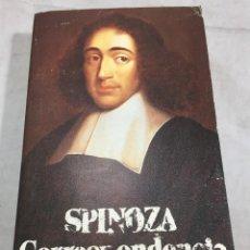 Libros de segunda mano: SPINOZA CORRESPONDENCIA. BARUCH. ALIANZA EDITORIAL. 1988. MADRID.. Lote 210809564