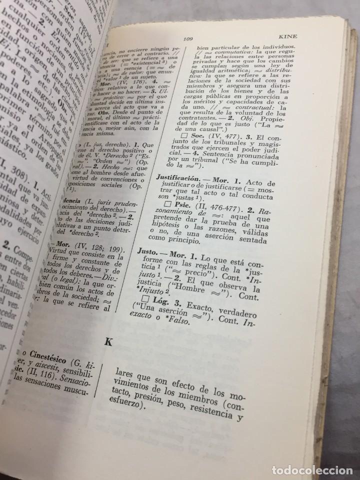 Libros de segunda mano: VOCABULARIO DE FILOSOFIA. Seguido de un cuadro histórico de las escuelas de filosofía Jolivet, Regis - Foto 8 - 211757300