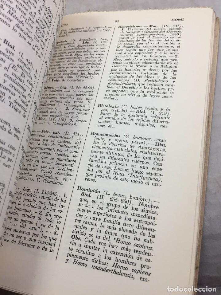Libros de segunda mano: VOCABULARIO DE FILOSOFIA. Seguido de un cuadro histórico de las escuelas de filosofía Jolivet, Regis - Foto 9 - 211757300