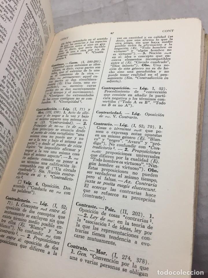 Libros de segunda mano: VOCABULARIO DE FILOSOFIA. Seguido de un cuadro histórico de las escuelas de filosofía Jolivet, Regis - Foto 12 - 211757300