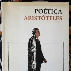 Libros de segunda mano: ARISTÓTELES . POÉTICA. Lote 212005305