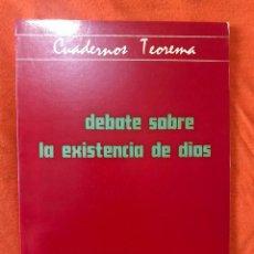 Livros em segunda mão: DEBATE SOBRE LA EXISTENCIA DE DIOS - BERTRAND RUSSELL / FREDERICK C. COPLESTON. Lote 212265808