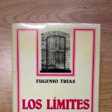 Livros em segunda mão: LOS LÍMITES DEL MUNDO. EUGENIO TRÍAS. ARIEL. FILOSOFÍA. Lote 212486995