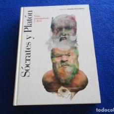 Libros de segunda mano: SÓCRATES Y PLATÓN VIDA,PENSAMIENTO Y OBRA EDITORIAL PLANETA DEAGOSTINI 2007. Lote 213101392