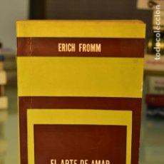 Libros de segunda mano: EL ARTE DE AMAR- ERICH FROMM- ED. PAIDÓS. Lote 213586837