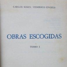 Libri di seconda mano: MARX ENGELS OBRAS ESCOGIDAS 14 TOMOS (COLECCION COMPLETA). Lote 213742972