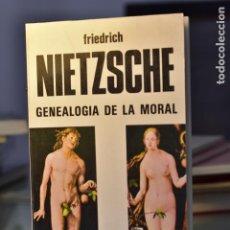 Libros de segunda mano: LA GENEALOGÍA DE LA MORAL- F. NIETZSCHE- ED. BUSMA. Lote 213849267