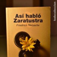 Libros de segunda mano: ASÍ HABLÓ ZARATUSTRA- NIETZSCHE, F.- ED. ALBA. Lote 213976427