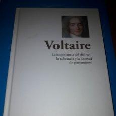 Libros de segunda mano: VOLTAIRE. LA IMPORTANCIA DEL DIÁLOGO, LA TOLERANCIA Y LA LIBERTAD DE PENSAMIENTO. RBA 2015. DANI. Lote 213979851