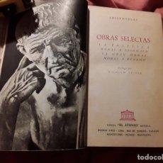 Libros de segunda mano: OBRAS SELECTAS, DE ARISTÓTELES. EL ATENEO, 1959 (ARGENTINA) POLITICA, MORAL. Lote 215197763