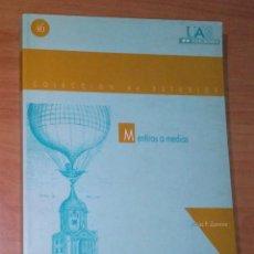 Libros de segunda mano: JESÚS P. ZAMORA BONILLA - MENTIRAS A MEDIAS - UAM, 1996 [KARL POPPER]. Lote 215580182