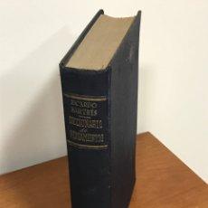 Libros de segunda mano: DICCIONARIO DE PENSAMIENTOS, DE RICARDO BARTRES, EDITORIAL FAMA, LIBRO DE AÑOS 50, LEER Y VER FOTOS. Lote 215968025