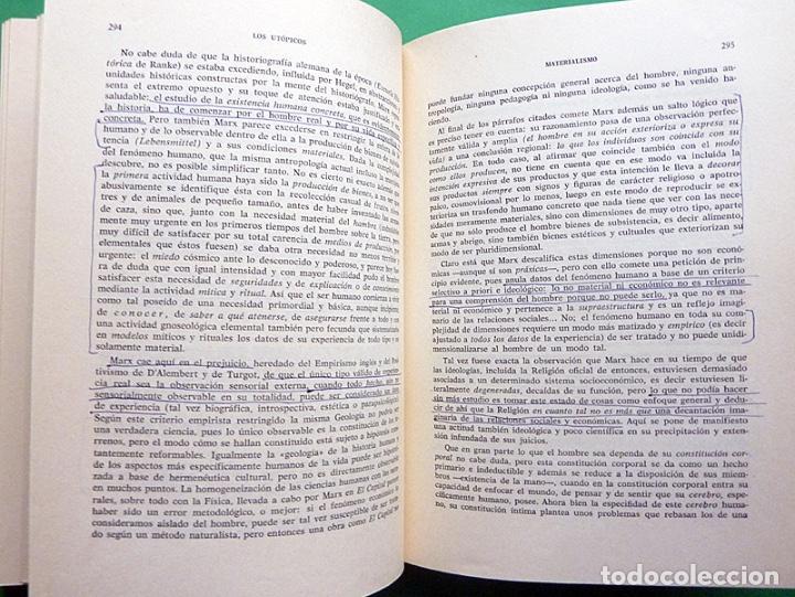 Libros de segunda mano: HISTORIA DE LA REFLEXIÓN, TOMO II: DE OCKHAM A LÉVI-STRAUSS - LUIS CENCILLO - 1972 - VER INDICE - Foto 9 - 216359521