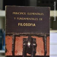 Libros de segunda mano: PRINCIPIOS ELEMENTALES Y FUNDAMENTALES DE LA FILOSOFÍA- G. POLITZER- ED. ALBA. Lote 216570246