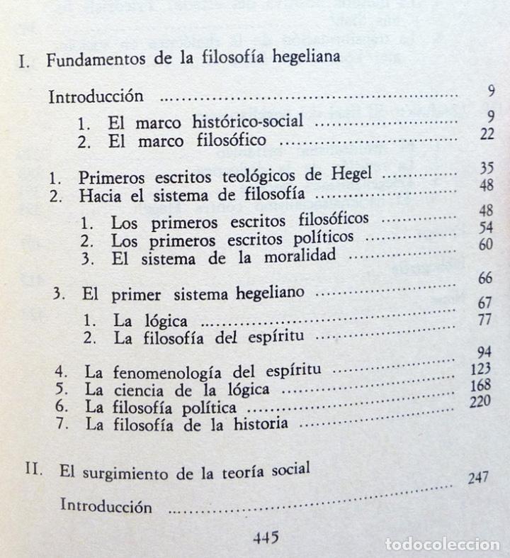 Libros de segunda mano: RAZÓN Y REVOLUCIÓN - HERBERT MARCUSE - ALIANZA EDITORIAL Nº 292 - 1972 - VER INDICE - Foto 4 - 217227411