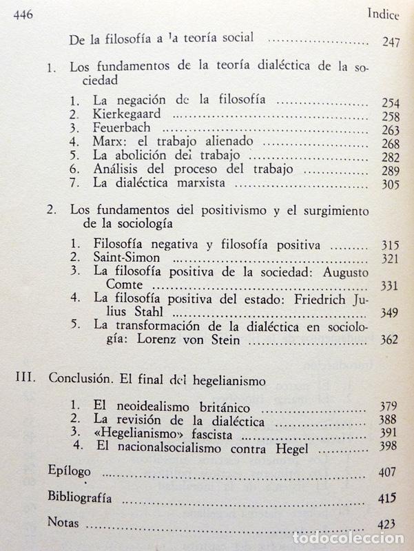 Libros de segunda mano: RAZÓN Y REVOLUCIÓN - HERBERT MARCUSE - ALIANZA EDITORIAL Nº 292 - 1972 - VER INDICE - Foto 5 - 217227411