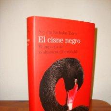 Livros em segunda mão: EL CISNE NEGRO. EL IMPACTO DE LO ALTAMENTE IMPROBABLE - NASSIM NOCHOLAS TALEB - CÍRCULO DE LECTORES. Lote 217293733
