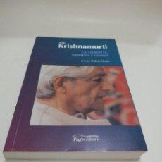 Libros de segunda mano: JIDDU KRISHNAMURTI, LA LLIBERTAT, PRIMERA I ÚLTIMA. Lote 217474622