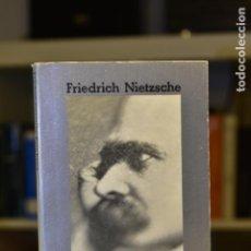 Libros de segunda mano: ECCE HOMO- FRIEDRICH NIETZSCHE- ALIANZA EDITORIAL. Lote 217611057