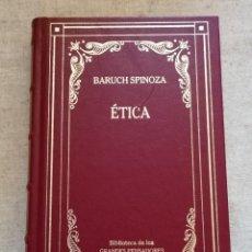 Libri di seconda mano: ÉTICA - BARUCH SPINOZA - BIBLIOTECA DE LOS GRANDES PENSADORES - TROTTA - 2002. Lote 229997445