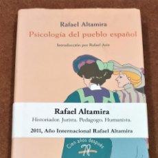 Libros de segunda mano: PSICOLOGÍA DEL PUEBLO ESPAÑOL. RAFAEL ALTAMIRA.. Lote 218159231