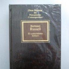 Libros de segunda mano: EL CONOCIMIENTO HUMANO - BERTRAND RUSSELL. Lote 218170943