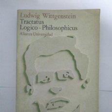 Libros de segunda mano: TRACTATUS LOGICO – PHILOSOPHICUS - LUDWIG WITTGENSTEIN. Lote 218171493