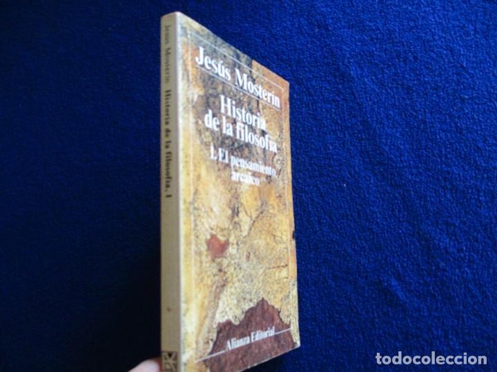 Libros de segunda mano: El Pensamiento Arcaico Jesús Mosterin Alianza Editorial 1983 Col. Historia de la Filosofia 1. - Foto 2 - 218510480