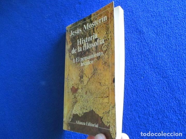 Libros de segunda mano: El Pensamiento Arcaico Jesús Mosterin Alianza Editorial 1983 Col. Historia de la Filosofia 1. - Foto 6 - 218510480