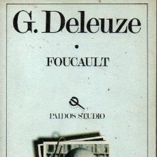 Libros de segunda mano: FOUCAULT. - DELEUZE, G.. Lote 218535335