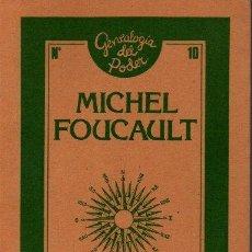 Libros de segunda mano: SABER Y VERDAD. - FOUCAULT, MICHEL.. Lote 218535358
